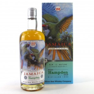 Hampden 1993 Silver Seal 22 Year Old Jamaican Rum