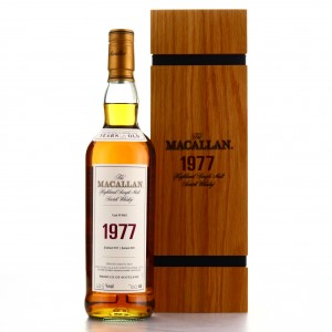 Macallan 1977 Fine and Rare 40 Year Old