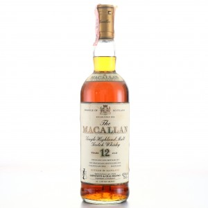 Macallan 12 Year Old 1990s / Giovinetti Import