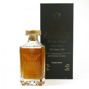 Amrut Greedy Angels 10 Year Old / Including Miniature Front