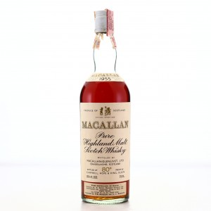 Macallan 1955 Campbell, Hope and King 80 Proof / Rinaldi Import