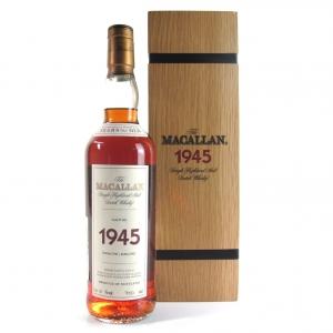 Macallan 1945 Fine and Rare