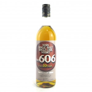 Shinshu Mars 1989 Single Cask 10 Year Old 72cl #606