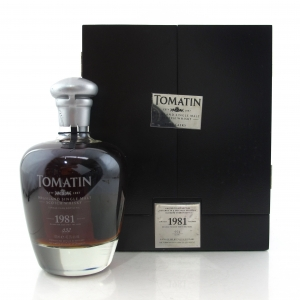 Tomatin 1981 Single Cask 32 Year Old #001