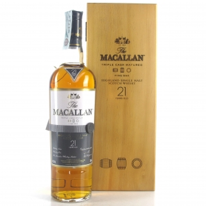 Macallan 21 Year Old Fine Oak