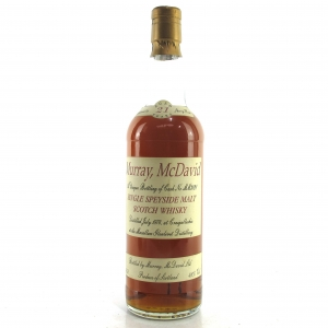 Macallan 1974 Murray McDavid 21 Year Old