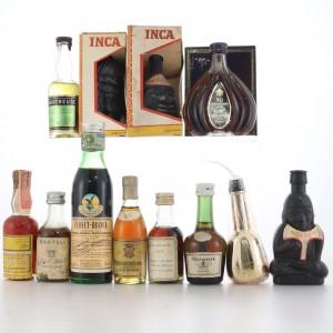 Miscellaneous Miniature Selection 12 x 5cl