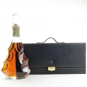 * BETTER PHOTOS OF DAMAGE / STRAIGHTEN PHOTOS Camus Cognac Cuvee 3.128 Baccarat Decanter