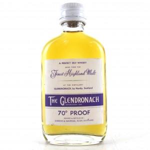Glendronach Gordon and MacPhail 70 Proof Miniature 1970s