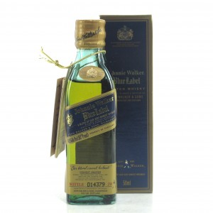Johnnie Walker Blue Label Miniature 5cl / US Import