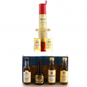 Scotch Whisky Miniatures / Includes Bowmore