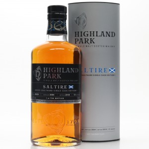 Highland Park 2004 Single Cask 13 Year Old #6520 / David Coulthard Saltire Edition 1