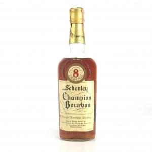 Schenley 8 Year Old Champion Bourbon 1960s
