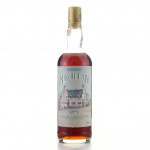 Macallan 1971 Samaroli Sherry Wood / Curved Distillery Label