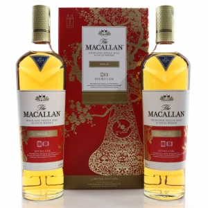 Macallan Gold Double Cask 2 x 70cl / Year of the Pig
