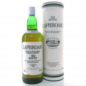 Laphroaig 10 Year Old 1980s 1.14 Litre