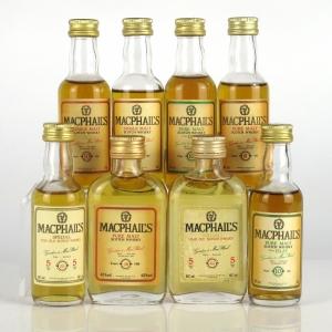 MacPhail's Scotch Whisky Miniature Selection 8 x 5cl