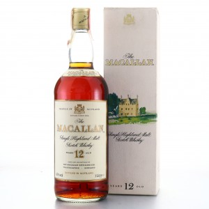 Macallan 12 Year Old 1980s 1 Litre / Rossi & Rossi Import