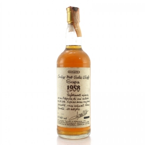 Scapa 1958 Samaroli 46% / Handwritten Labels
