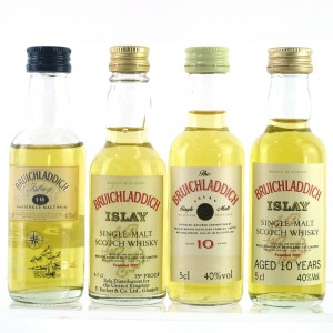 Bruichladdich Miniature Selection / 4 x 5cl