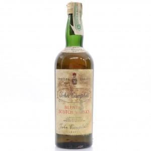 John Campbell Scotch Whisky circa 1960s