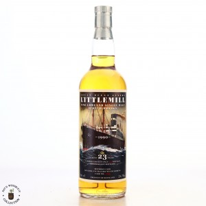 Littlemill 1990 Jack Wiebers 23 Year Old Great Ocean Liners / The Whisky Fair