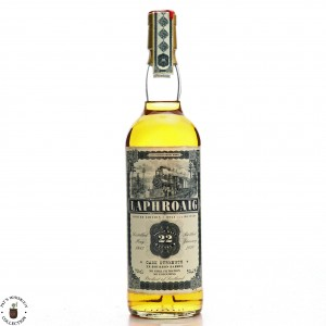 Laphroaig 1987 Jack Wiebers 22 Year Old / Old Train Line