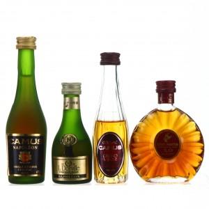 Cognac Miniatures x 4