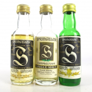 Springbank Miniature Selection x 3