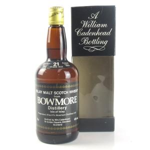 Bowmore 1964 Cadenhead's 21 Year Old
