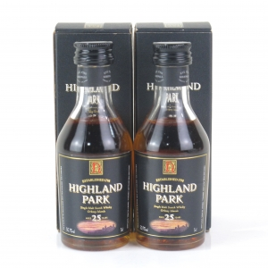Highland Park 25 Year Old Miniature 2 x 5cl