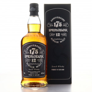 Springbank 12 Year Old 175th Anniversary