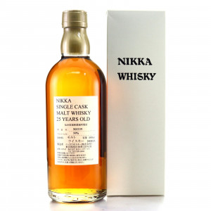 Miyagikyo Nikka 25 Year Old Single Cask #900339 50cl