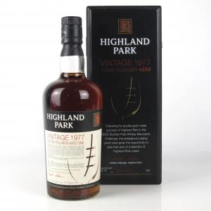 Highland Park 1977 Scottish Field Merchant's Single Cask #4258