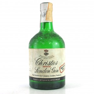 Christies London Dry Gin 1980s / Rinaldi Import