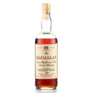 Macallan 1939 Gordon and MacPhail 70 Proof