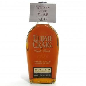Elijah Craig Barrel Proof Bourbon 2018 Release / Batch #A118