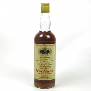 Mortlach Royal Marriage Front