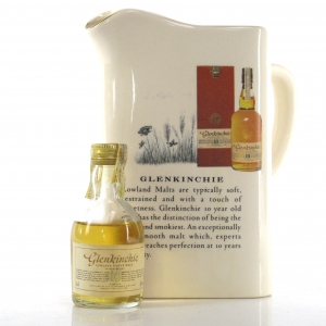 Glenkinchie 10 Year Old 5cl Miniature / Including Water Jug