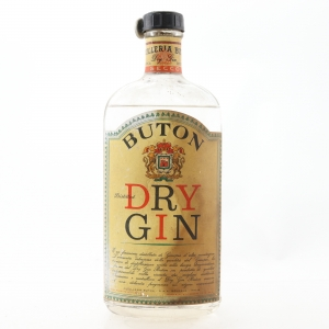 Buton Dry Gin 1950s