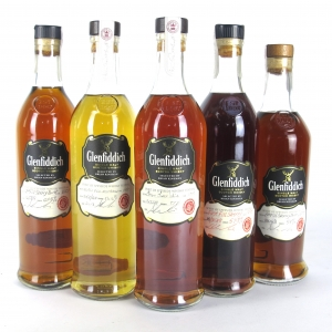 Glenfiddich Spirit of Speyside Festival Collection 2013 - 2017 / 5 x 70cl
