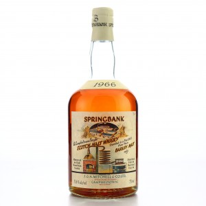 Springbank 1966 Bourbon Cask #471 75cl / Local Barley - US Import