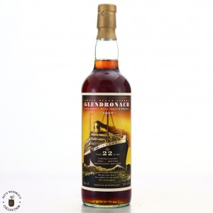 Glendronach 1990 Jack Wiebers 22 Year Old Great Ocean Liners / The Whisky Fair