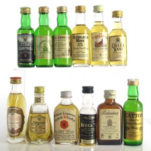 Miscellaneous Blended Miniature Selection x 12