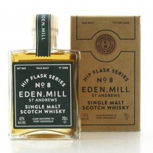 Eden Mill Single Malt Hip Flask Series No.8 20cl / Port Hogshead