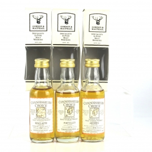 Miscellaneous Gordon and MacPhail Miniatures Collection 3 x 5cl / includes Port Ellen 1974