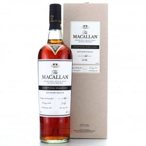 Macallan 2003 Exceptional Cask #9100-13 / 2017 Release