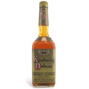 Kentucky Deluxe 8 Year Old Straight Bourbon 1990s