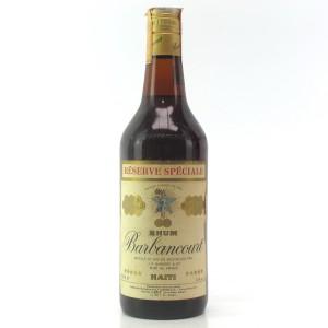 Barbancourt 5 Star Rum 1980s