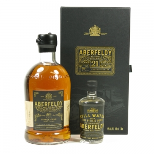 Aberfeldy 1998 Single Cask 17 Year Old / Including Aberfeldy Source Water front